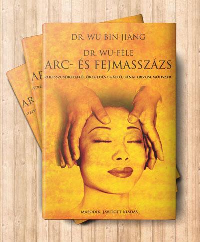 A Dr Wu-féle arc- és fejmasszázs könyv borítója