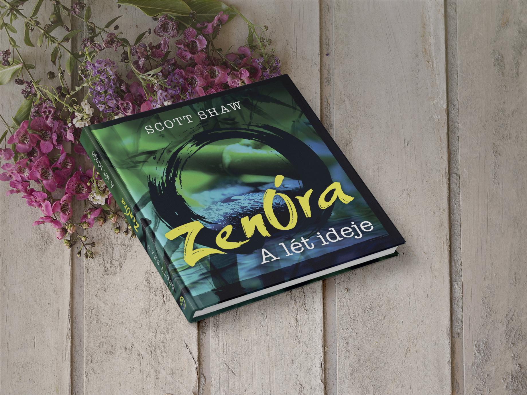 A ZenÓra könyv borítója