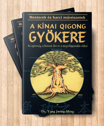 A kínai qigong gyökere című könyv borítója