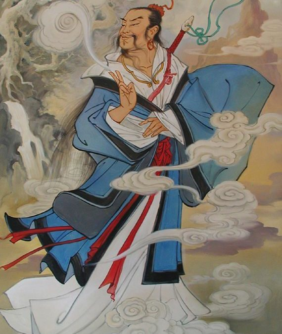 Lü Dongbin – a Barlang Vendége