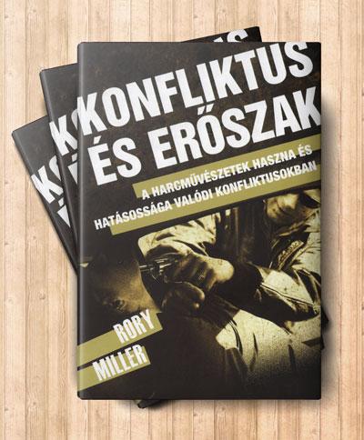 Konfliktus és erőszak című könyv borítója