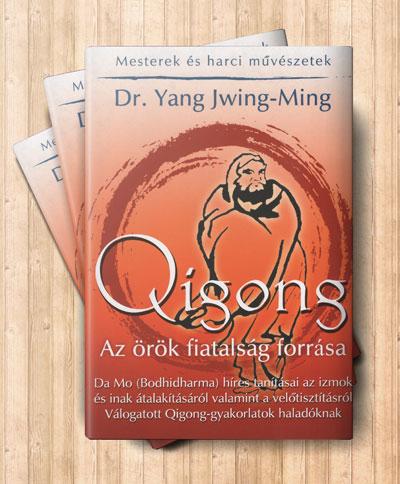 Qigong, az örök fiatalság forrása című könyv borítója